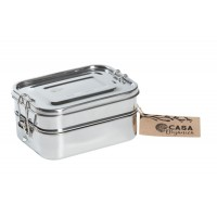 Lunch box with clip (3 layers)