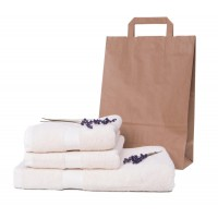 Towel set - natural